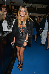 KARA ROSE MARSHALL at the Maybelline New York: Party, part of the London Fashion Week Spring Summer 15 held at Tredwell's, 4a Upper St Martins Lane, London on 12th September 2014.