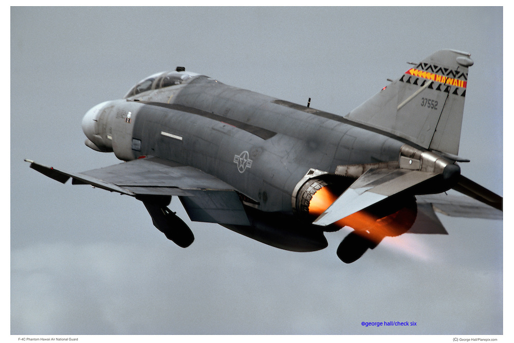 F-4C, afterburner