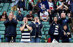 Bristol Rugby fans at Twickenham - Mandatory by-line: Robbie Stephenson/JMP - 03/09/2016 - RUGBY - Twickenham - London, England - Harlequins v Bristol Rugby - Aviva Premiership London Double Header