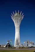 The Baiterek is the New Astana's main symbol and landmark.
