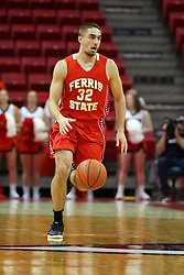 26 November 2016:  Peter Firlik during an NCAA  mens basketball game between the Ferris State Bulldogs the Illinois State Redbirds in a non-conference game at Redbird Arena, Normal IL