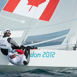 2012 Olympic Games London / Weymouth<br /> <br /> Star practice race<br /> StarCANClarke Richard, Bjorn Tyler
