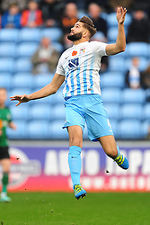 JORDAN TURNBULL COVENTRY CITY, Coventry City v Scunthorpe United, EFL, Sky Bet League One Ricoh Arena, Saturday 12th November 2016<br /> Photo:Mike Capps
