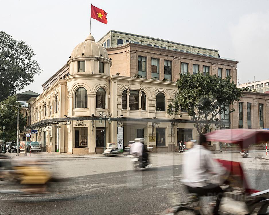 Hanoi Stock Exchange building, Vietnam, Southeast Asia