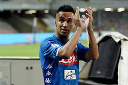 September 15, 2018 - Naples, Naples, Italy - Adam Ounas of SSC Napoli during the Serie A TIM match between SSC Napoli and ACF Fiorentina at Stadio San Paolo Naples Italy on 15 September 2018. (Credit Image: © Franco Romano/NurPhoto/ZUMA Press)