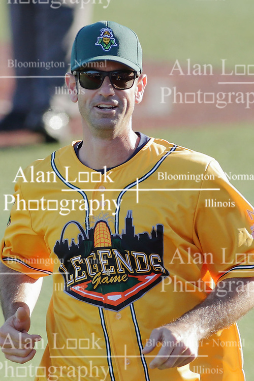 29 July 2017: Mark Prior - Legends Baseball game sponsored by the Normal CornBelters at Corn Crib Stadium on the campus of Heartland Community College in Normal Illinois