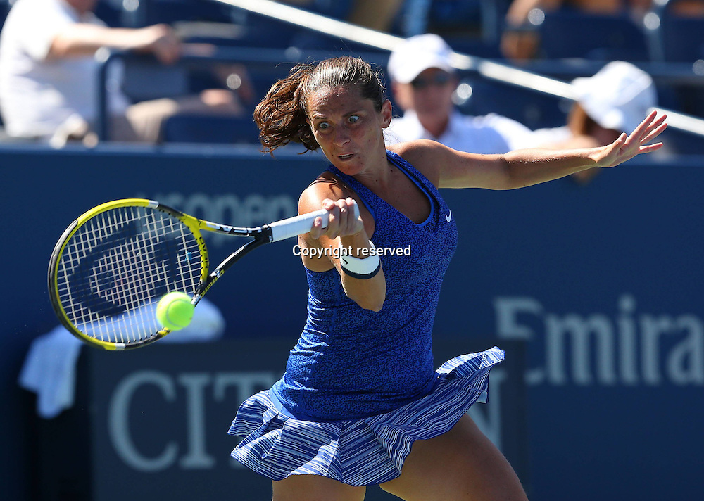 30.08.2014. Flushing Meadows, New York, USA. US Open tennis championships.  Roberta Vinci (ITA)