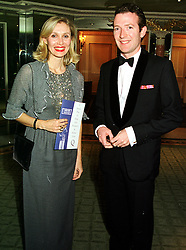 MR & MRS ASHLEY HICKS he is grandson of the late Earl Mountbatten of Burma, at a ball in London on 13th October 1999.MXP 70