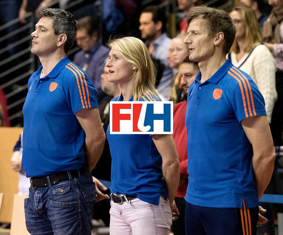 BERLIN - Indoor Hockey World Cup<br /> Final: Netherlands - Germany<br /> foto: Marieke Dijkstra.<br /> WORLDSPORTPICS COPYRIGHT FRANK UIJLENBROEK