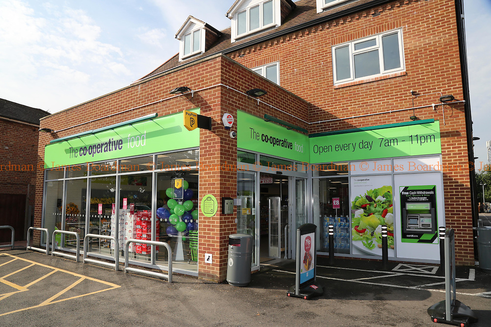 Southern Co-operative Store opening at Laleham Road, Staines, Surrey, <br /> Photo by James Boardman 07967642437