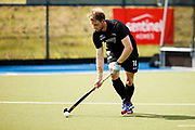 Brad Read of the Black Sticks at the final game of the Black Sticks v Canada Test Matches 21 October 2018. Copyright photo: Alisha Lovrich / www.photosport.nz