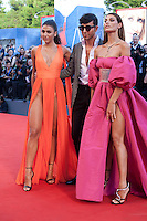 Giulia Salemi and Dayane Mello at the premiere of the film The Young Pope at the 73rd Venice Film Festival, Sala Grande on Saturday September 3rd 2016, Venice Lido, Italy.