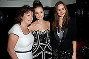 CAROL PARSELL; KARA TOINTON; HANNAH TOINTON, The aftershow party for PYGMALION. National Gallery Gallery CafŽ, London.  May 25, 2011,<br /> <br /> <br /> <br />  , -DO NOT ARCHIVE  Copyright Photograph by Dafydd Jones. 248 Clapham Rd. London SW9 0PZ. Tel 0207 820 0771. www.dafjones.com.<br /> CAROL PARSELL; KARA TOINTON; HANNAH TOINTON, The aftershow party for PYGMALION. National Gallery Gallery Café, London.  May 25, 2011,<br /> <br /> <br /> <br />  , -DO NOT ARCHIVE  Copyright Photograph by Dafydd Jones. 248 Clapham Rd. London SW9 0PZ. Tel 0207 820 0771. www.dafjones.com.