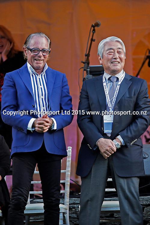 BMW New Zealand Open, Arrowtown Street Party.Thursday 12 March 2015. Copyright photo: Michael Thomas / www.photosport.co.nz