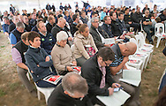 Sveral hundred people attended the first of the field days at Ngai Tahu Farming, Te Whenua Hou, near Oxford, Canterbury,  - Ahuwhenua Trophy BNZ Maori Excellence in Farming Award, 08 March 2016. Photo by John Cowpland / alphapix<br /> <br /> CONDITIONS of USE:<br /> <br /> FREE for editorial use in direct relation the Ahuwhenua Trophy competition. ie. not to be used for general stories about the finalist or farming.<br /> <br /> NO archiving of images. NO commercial use. <br /> Please contact John@alphapix.co.nz if you have any questions