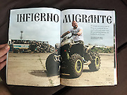 Vice Magazine (Mexico edition, Fall 2016) - &quot;This ATV-Riding Immigrant Hunter Is the New Face of Europe's Far Right&quot;.<br />