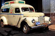 Ice cream truck in Alquizar, Artemisa Province, Cuba.