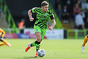 Forest Green Rovers Dayle Grubb(8) runs forward during the EFL Sky Bet League 2 match between Forest Green Rovers and Newport County at the New Lawn, Forest Green, United Kingdom on 31 August 2019.