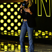 Speaker Laura Whitmore at 2020 WE Day UK at Wembley Arena, London, Uk 4 March 2020.