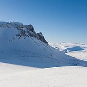View to Hvalfjörður from Botnsúlur mountains.