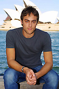 STUART TOWNSEND STAR OF QUEEN OF THE DAMNED AND BOYFRIEND OF CHARLIZE THERON  IN SYDNEY TO PROMOTE HIS NEW MOVIE..PIC:PAUL LOVELACE 14.3.02