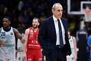 Ettore Messina<br /> A X Armani Exchange Olimpia Milano - Pallacanestro Cantu<br /> Basket Serie A LBA 2019/2020<br /> Milano 05 January 2020<br /> Foto Mattia Ozbot / Ciamillo-Castoria