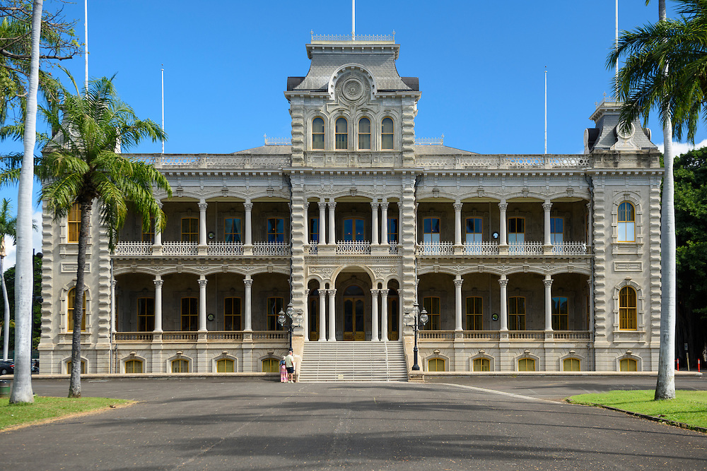 USA, Hawaii, Oahu, HonoluluUSA, Hawaii, Oahu, Honolulu,Iolani Palace