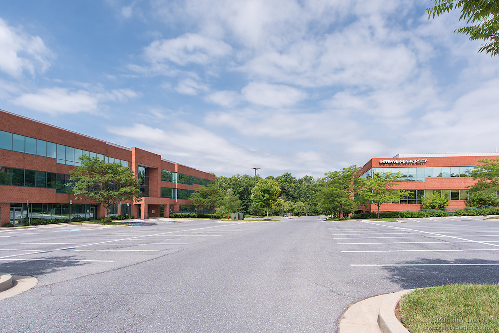 Exterior Image of Dolfield Office Park in Owings Mills Maryland by Jeffrey Sauers of Commercial Photographics, Architectural Photo Artistry in Washington DC, Virginia to Florida and PA to New England