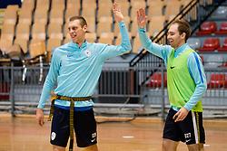 Practice session of Futsal National team of Slovenia before Futsal EURO 2018, on January 8, 2018 in Kodeljevo sports hall, Ljubljana, Slovenia. Photo by Urban Urbanc / Sportida