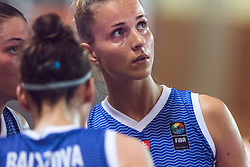Ivana Jakubcova of Slovakia  during Women's Basketball - Slovenia vs Slovaska on the 14th of June 2019, Dvorana Poden, Skofja Loka, Slovenia. Photo by Matic Ritonja / Sportida