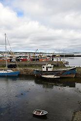 Newlyn harbour, Cornwall, UK. August 2018