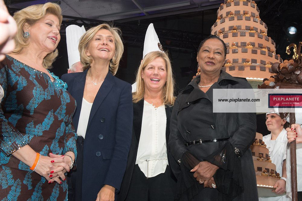 Valerie Pecresse - Babette de Roziere - Sylvie Douce - Dominique Ouatara 25ème Salon du Chocolat mardi 29 Octobre 2019 Porte de Versailles Paris