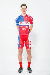 Gasper Katrasnik during photo session of Cycling Team KK Adria Mobil, on January 22, 2018 in Novo Mesto, Novo Mesto, Slovenia. Photo by Vid Ponikvar / Sportida