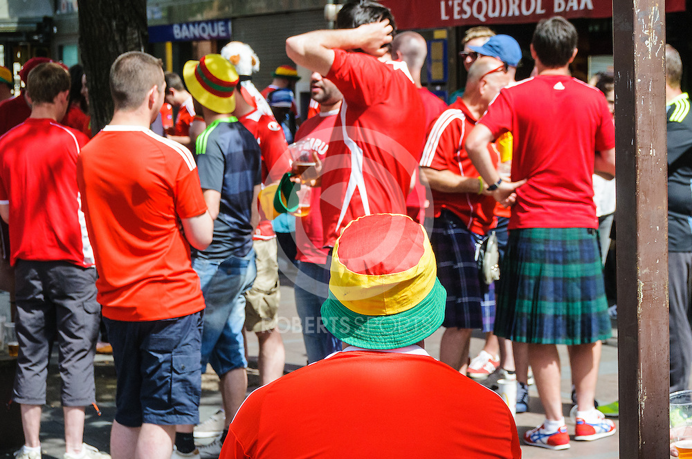 Images from Wales v Russia at UEFA EURO 2016, 20 June 2016 in Stadium Municipal Toulouse. Photo: Paul J Roberts | RobertsSports Photo. All Rights Reserved