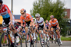 Boels Dolmans control the pace on the front with 40km to go at the 116 km Stage 5 of the Boels Ladies Tour 2016 on 3rd September 2016 in Tiel, Netherlands. (Photo by Sean Robinson/Velofocus).