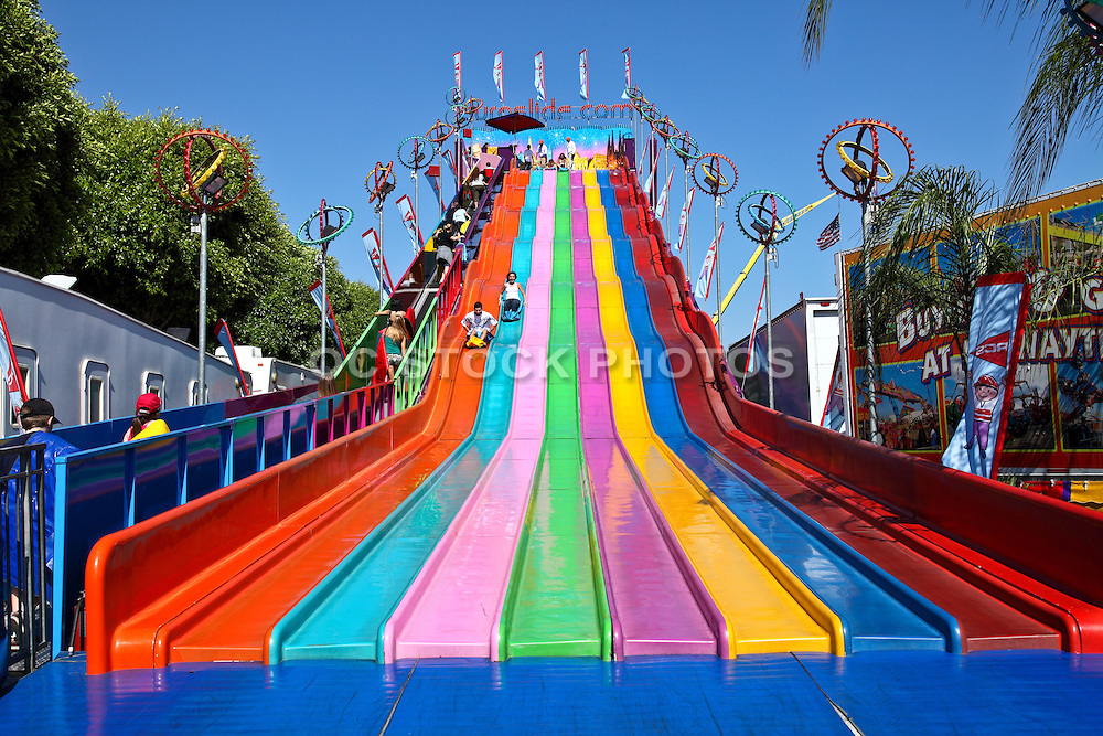 Rides at the Orange County Fair
