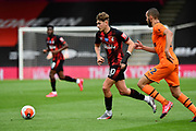 David Brooks (20) of AFC Bournemouth on the attack during the Premier League match between Bournemouth and Newcastle United at the Vitality Stadium, Bournemouth, England on 1 July 2020.
