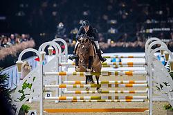Goossens Gregory, BEL, Melvis Van De Paspolder<br /> Jumping Mechelen 2019<br /> © Hippo Foto - Dirk Caremans<br />  27/12/2019