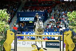 Kühner Max, (AUT), Chardonnay <br /> Longines FEI World Cup Jumping Final III B<br /> © Dirk Caremans