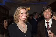 KATE BRAGG,; MELVYN BRAGG;  The Brown's Hotel Summer Party hosted by Sir Rocco Forte and Olga Polizzi, Brown's Hotel. Albermarle St. London. 14 May 2015