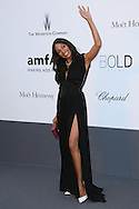 CAP D'ANTIBES, FRANCE - MAY 23:  Rosario Dawson arrives at amfAR's 20th Annual Cinema Against AIDS at Hotel du Cap-Eden-Roc on May 23, 2013 in Cap d'Antibes, France.  (Photo by Tony Barson/FilmMagic,)