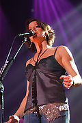 Sarah McLachlan live in concert at the Pepsi Stage in Amsterdam, The Netherlands. This concert is a part of her Afterglow Live tour .<br />