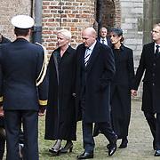 NLD/Delft/20131102 - Herdenkingsdienst voor de overleden prins Friso, astronaut Andre Kuipers en partner