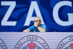 Coach of POGACNIK Anka of Slovenia competes in the elimination round on July 27, 2019 at the IJF World Tour, Zagreb Grand Prix 2019, in Dom Sportova, Zagreb, Croatia. Photo by SPS / Sportida