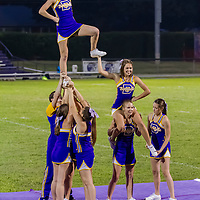 09-04-15 Berryville vs. Decatur  Cheerleaders Halftime Show