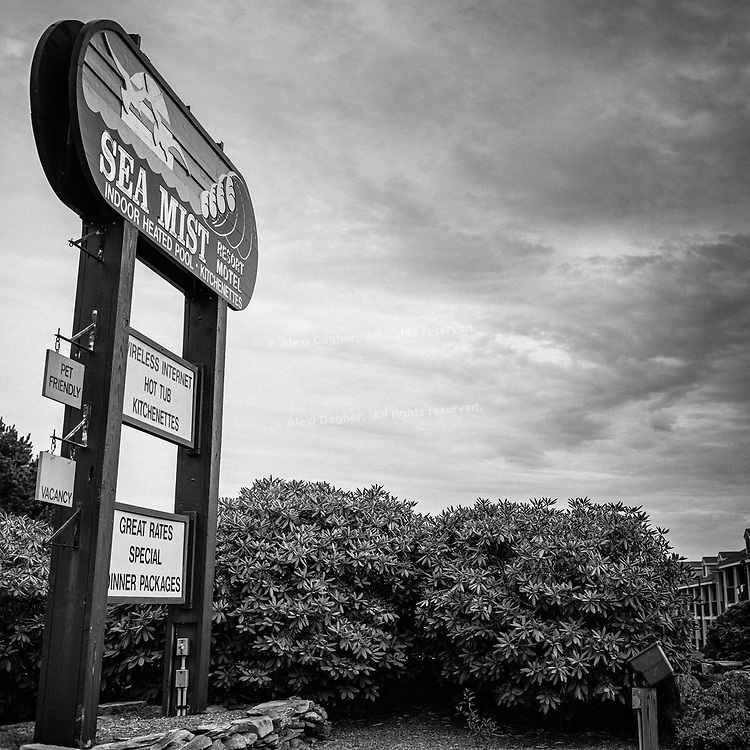 Sea Mist Resort Motel - Wells, Maine, USA, 2016
