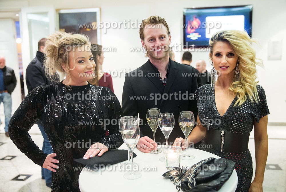 Nika Čukur and dancers ... prior to the Dejan Zavec Boxing Gala event in Ljubljana, on March 11, 2017 in Grand Hotel Union, Ljubljana, Slovenia. Photo by Vid Ponikvar / Sportida