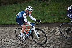 Tayler Wiles (USA) chases back at Le Samyn des Dames 2019, a 101 km road race from Quaregnon to Dour, Belgium on March 5, 2019. Photo by Sean Robinson/velofocus.com