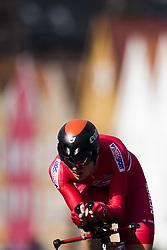 September 20, 2017 - Bergen, NORWAY - 170920 Andreas Vangstad of Norway competes during the Men Elite Individual Time Trial on September 20, 2017 in Bergen..Photo: Jon Olav Nesvold / BILDBYRN / kod JE / 160023 (Credit Image: © Jon Olav Nesvold/Bildbyran via ZUMA Wire)