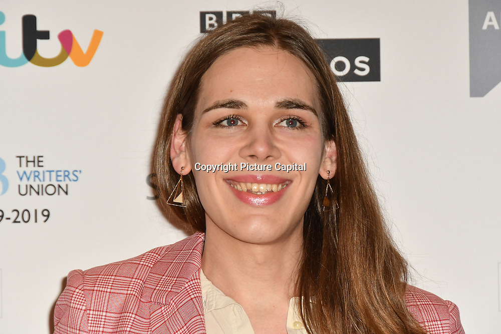 Christine Bush attends 2019 Writers' Guild Awards at Royal College of Physicians on 14 January 2019, London, UK
